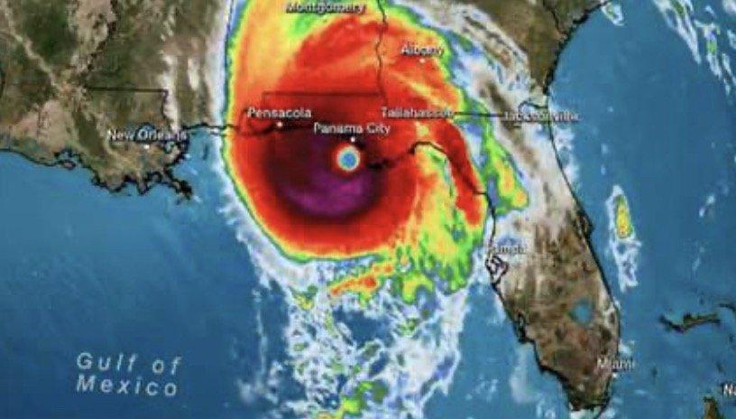 Hurricane Michael via CNN